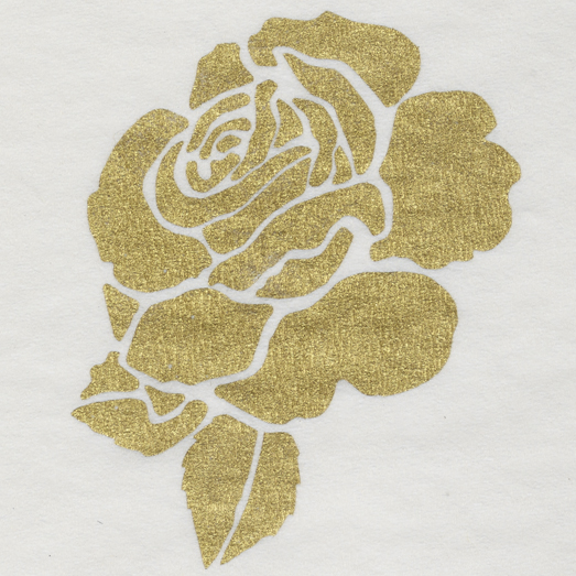PMS 871 – Metallic Gold Ink on Napkin
