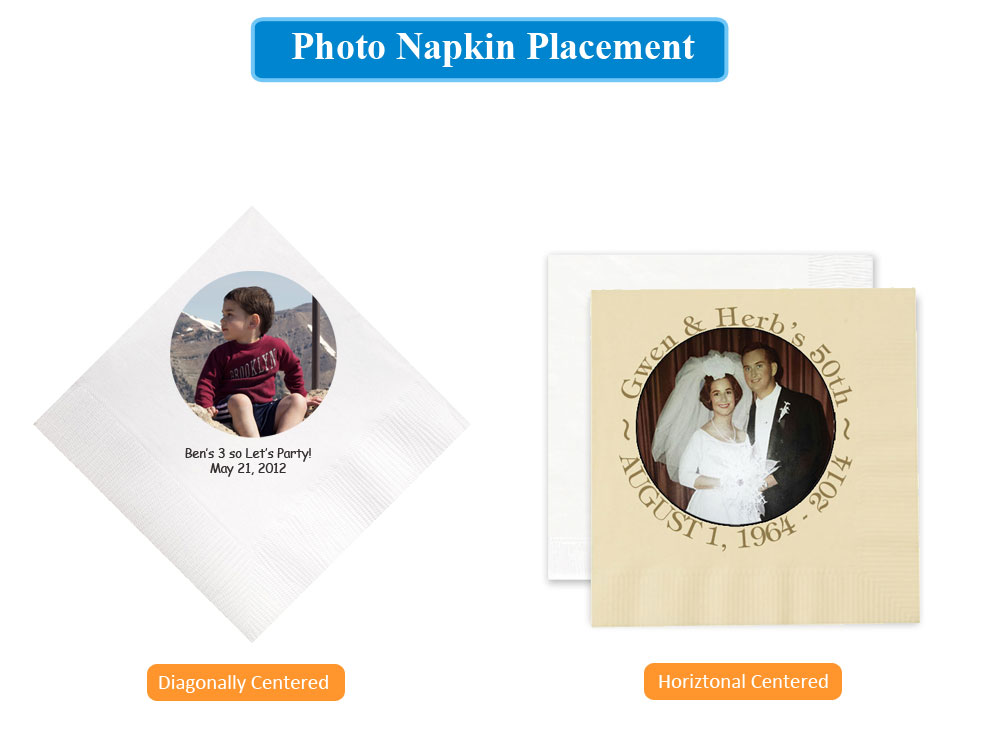 Photo Napkin Placments