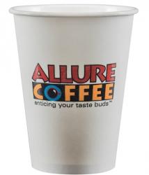 d19ce6e92ac 12 oz. Custom White Paper Cups, Full-Color Imprint | PartyInnovations