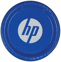 1-Color Imprint Custom 7  Colored Plastic Plate  sc 1 st  Party Innovations & Colored Plastic Plates | PartyInnovations