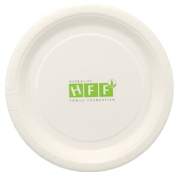 2-Color Imprint Custom 7\  White Paper Plate  sc 1 st  Party Innovations & Paper and Plastic Plates with Custom Logo | PartyInnovations