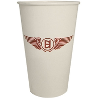 f58abb809f1 1-Color Imprint 20 oz Custom Hot and Cold White Paper Cups