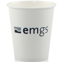 357300f3b64 1-Color Imprint 6 oz Custom Hot and Cold White Paper Cups