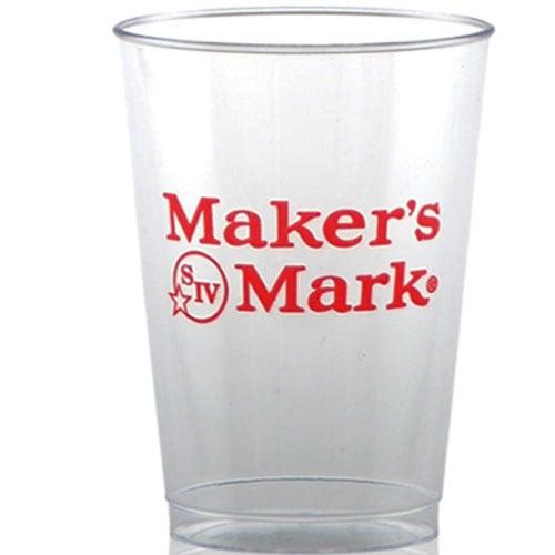 1 color imprint 7 oz custom clear hard plastic cups partyinnovations