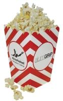 4 X 6 Custom Scoop Style Popcorn Box Small 1 Color Ink