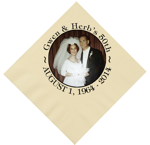 logo napkins and personalized napkins partyinnovations