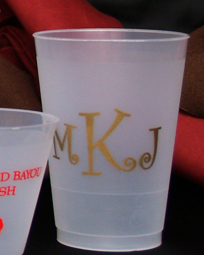 Personalized 12 oz Frost-Flex Cups (Online Preview)