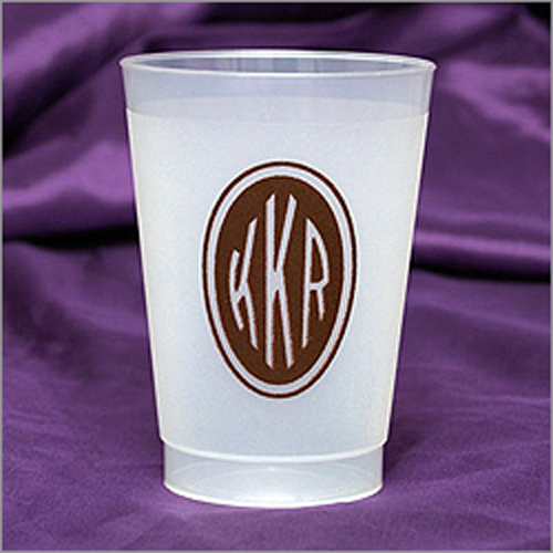 Personalized 8 oz Frost-Flex Cups (Online Preview)