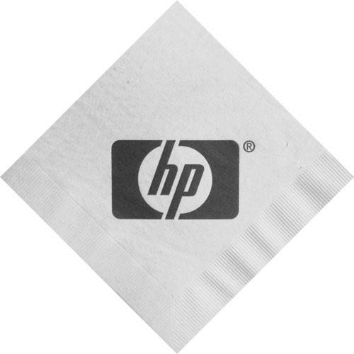Custom Printed Napkins Logo White Custom Logo 3-ply